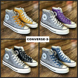 2b648b575ac8 Converse All Star x Chiara Ferragni Chuck Sequin Big eyes Designer Silver  Running Shoes Canvas Chuck Casual Toylar Sneakers Chaussures