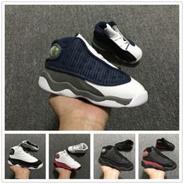 ring basketball 2019 - 2019 Kids 6 13 rings baby Basketball Shoes unc gold black red kid 6s 13s toddler Boys Sneakers Children Sports low train