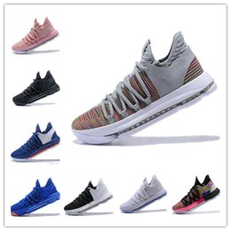 Discount kd casual shoes - New Zoom KD 10 Anniversary University Red Still Kd Igloo BETRUE Oreo Men Casual Shoes USA Kevin Durant Elite KD12 Casual