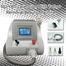 Laser Tattoo Removal Ce NZ - nd yag laser machine laser tattoo removal Black Doll Treatment Professional tattoo removal equipment CE approval with factory price