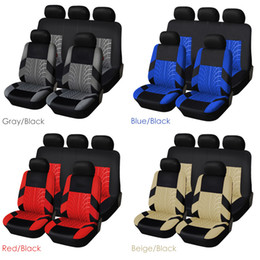 Seat Covers & Supports Embroidery Car Seat Cover Universal Fit Most Auto Interior Decoration Accessories Car Seat Protector