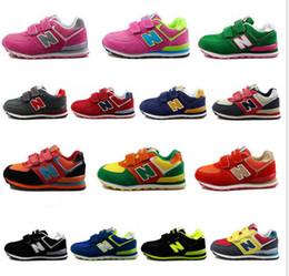 05 vendita calda marca bambini scarpe sportive casuali ragazzi e ragazze sneakers bambini scarpe da corsa per bambini in Offerta