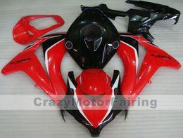 $enCountryForm.capitalKeyWord Australia - New ABS Injection Molding motorcycle Kits 100% Fit For Honda CBR1000RR 08 09 10 11 2008-2011 plastic Fairings bodywork custom red black nice