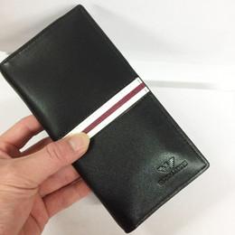 0f3def306fa1f 2019 AJ Design Brieftasche Mode Brand New Business Leder lange Brieftasche  Männer Kreditkarte Mann Geldbörsen Brieftasche Taschen Großhandel