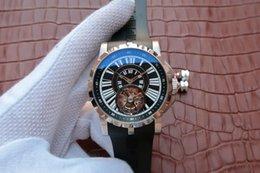 $enCountryForm.capitalKeyWord NZ - Hommage real tourbillon series, manual top real flywheel movement, sapphire crystal glass, 46mm, silica gel watchband, men's watch