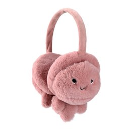 girls earmuffs UK - New Cute Winter Warm Earmuff For Girls And Boys Plush Warm Rabbit Earcap Children Lovely Winter Earmuffs Ear Cover Earwarmers