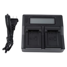 charger np UK - Dual Channel LCD Display Battery Charger For Sony NP-FW50 A5100 A6000 NEX Series Battery
