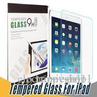 screen for ipad price NZ - factory price Happy 9H Tempered Glass Screen Protector Anti Shatter Screen Protector Film For iPad 5 6 Air Pro 2017 Mini 2 3 4