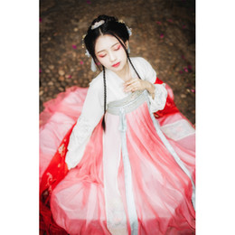 $enCountryForm.capitalKeyWord Australia - Hanfu Women Chinese National Dance Costume Traditional Stage Festival Outfit Oriental Performance Clothes Fairy Dress DF1034