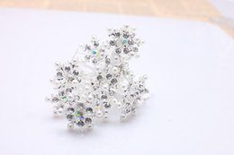 Engagement Party Packs Australia - 20-Packed U-shaped Snowflake Hair Pin Hair Clip hair accessories for Wedding Headdress or Bride Accessorie, Headwear Accessories for Party
