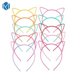 $enCountryForm.capitalKeyWord UK - Lovely Children Candy Color Hair Band Resin Cosplay Cat Ears Girls Headband Hoop Hairbands Headwear Hair Accessories