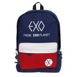 Luggage & Bags Men's Bags New Arrival Exo Laser Backpack Korean Canvas Backpack Teenage Girls Fashion Exo Bags Harajuku Backpack Rucksacks For School