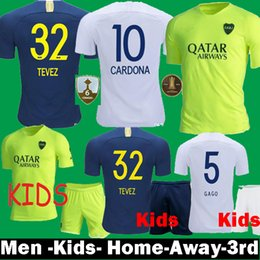 fbdd35996 Boca juniors Blue jersey online shopping - 2018 Boca Juniors TEVEZ ROMAN  Pavon Soccer Jerseys Boca