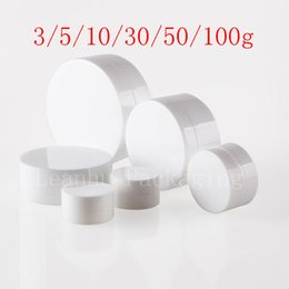 Plastic cosmetic can online shopping - 100g x empty cream container ml cosmetic skin care jar round plastic bottles pot powder PP container can screw cap