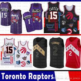 05bdb953f SUP Vince 15 Carter 2019 New Toronto Jersey Raptors Kawhi 2 Leonard Kyle 7  Lowry Tracy 1 McGrady Basketball Jerseys