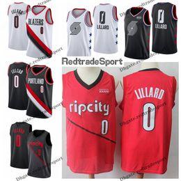 2019 Earned Portland Edition Damian Lillard Basketball Jerseys  0 Mens  Cheap City Damian Lillard Trail Blazer Edition Stitched Shirts 7bb7f0e3a
