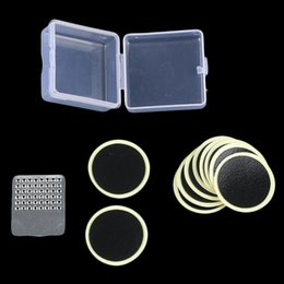 tire patch kit 2019 - 10pcs Universal Cycling Mend Bicycle Bike Repair Fix Kit Flat Rubber Tire Protection Tube Patch Glueless Patch Kit Hand
