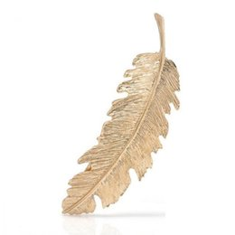 Hair Feathers Tools Australia - Metal Tool Hair Accessories Hair Gift Dating Women Styling Engagement Wedding Clip Fashion Party etc Feather