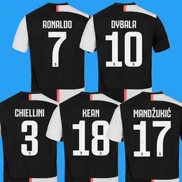 c7ad9a5bfff Buffon Soccer Jersey Canada - Juventus Soccer Jersey 2018 2019 Home DYBALA  HIGUAIN MANDZUKIC D.
