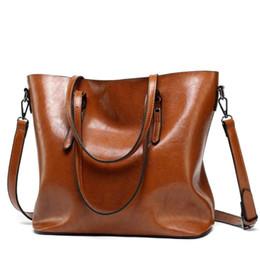 Wholesale Ladies Brand Handbags NZ - 2019 European Ladies PU Leather Bag Designer Brand Handbags High Quality Female Tote Crossbody Shoulder Bag Women Messenger Bags