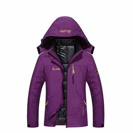 White duck cloth online shopping - Outdoor Winter woman warm down jacket n b down jacket hooded cloth White Duck Camping hiking Mountaineering clothes