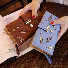 Discount fashion passport holder - NEW Multifunction clutch Wallets Purses Leather Women Wallet Female Long Wallet Lady Clutch Money Bag Coin Purse card pa