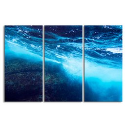 $enCountryForm.capitalKeyWord Australia - 3 pieces of HD print submarine surface canvas painting poster and wall art living room picture HDBM3-1D
