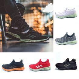 check out 99543 8ac59 Adidas 2019 Futurecraft 4D Runner Running Shoes Para Hombres Mujeres Ash  Green Triple Negro Blanco Rojo Para Hombre Diseñador Sport Athletic Sneaker  Tamaño ...