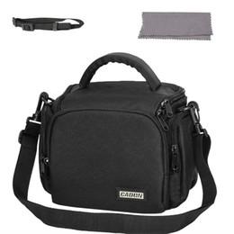 $enCountryForm.capitalKeyWord Australia - DSLR SLR Camera Lens Protective Bag Waterproof Neoprene Pouch Case Black Purple