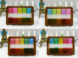 $enCountryForm.capitalKeyWord NZ - 1 Set Patterned fashion cute Translucent Index Tabs Neon Page Markers Sticky Notes with Box, Multi-Color, 100 Pieces in Total
