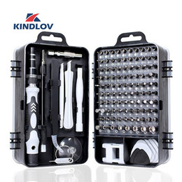 function screwdriver Australia - KINDLOV 112 in 1 Screwdriver Set of Screw Driver Bit Set Multi-function Precision Mobile Phone Repair Device Hand Tools Torx Hex Y200321