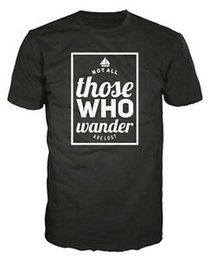 $enCountryForm.capitalKeyWord Australia - Tolkien Not All Those Who Wander Are Lost LotR Lord of the Rings Unisex T-shirt