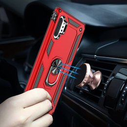 Wholesale For Samsung galaxy note note pro Rotating Ring bracket magnet car phone holder mobile phone shell stand back phone case B