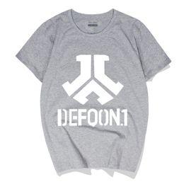 bdab76534 Men's Casual Top Tees O-Neck Polos Defqon.1 Rock Band Hip Hop Cotton Short Sleeve  Summer Hip-Hop T-Shirts Cotton Tees