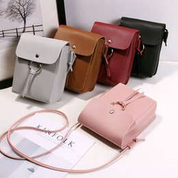 $enCountryForm.capitalKeyWord Australia - Pinky Color One Shoulder Bag Small Change Bags Chain Lovely Kid Wallet Purse PU Mobile Phone Bag 5 6mc O1
