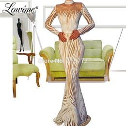 $enCountryForm.capitalKeyWord UK - Illusion Mermaid Evening Dress White Ivory Custom Made Arabic Party Dress 2019 Robe De Soiree Turkish Dubai Kaftans Prom Gown