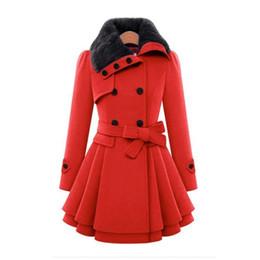 $enCountryForm.capitalKeyWord UK - New European And American Women&s Slim-fit Long Jacket Hugely Double-breasted Padded Coat