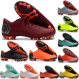 Discount cr7 new soccer boots - New arrival men 12 Academy CR7 AG-R Soccer Shoes Boots Superfly Ronaldo Neymar Outdoor Football Shoes sports shoes