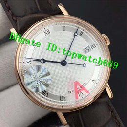 luxury brown leather watch Australia - FK Luxury 5177 Watch Swiss 777Q Automatic Sapphire Crystal Sapphire Crystal Rose Gold Case Silver Dial Brown Leather Strap Mens Watch