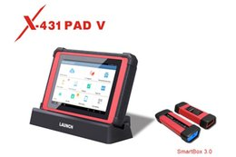 lexus diagnostic tester Australia - 100% Original Launch X431 PAD V (PAD 5) Diagnostic Tool with Smart Box 3.0 Free Update for 3 Years Support full-make, full-system