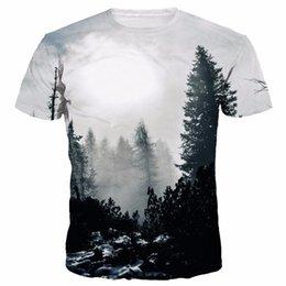 $enCountryForm.capitalKeyWord UK - Mr.1991inc New Arrivals Men Women 3d Print T Shirt Winter Forest Trees Quick Dry Summer Tops Tees Brand Tshirts