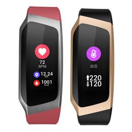 $enCountryForm.capitalKeyWord UK - Blood Pressure Wristband Heart Rate Monitor Smart Bracelet Watch GPS Activity Track APP Fitness for Samsung Galaxy S10 Huawei P20 Lite
