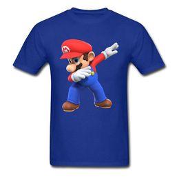 Discount super mario clothing - 2019 men s designer clothing tshirt Men T-Shirts 3D Tshirt Super Mario Bros T Shirt Funny Dabbing Mario Printed Clothes