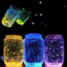 Glow Party Decorations Australia - DIY Luminous Glow Gravel Noctilucent Sand Fish Tank Aquarium Fluorescent Particles Party Decoration