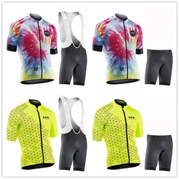 mens lycra cycling shorts Australia - 2019 New nw Mens Comfortable Short Sleeve Cycling Jersey (Bib) Shorts MTB Bicycle Clothes Strap Maillot Ropa Ciclismo 9D Gel Pad