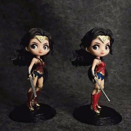 $enCountryForm.capitalKeyWord NZ - Justice League Wonder Woman Big Eyes Sexy Anime Action Figure Art Girl Big Boobs Tokyo Japan Adult Products Doll PVC Free Shipping