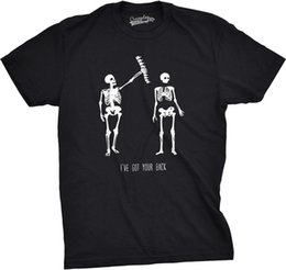 90559811bc8fb Funny skeleton online shopping - Mens Got Your Back Funny Skeleton Best  Friend Halloween T shirt