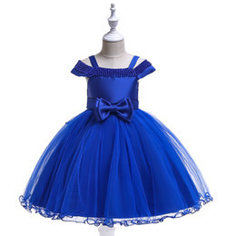 $enCountryForm.capitalKeyWord Canada - Baby Royal Blue Red White Champagne Girl's Pageant Dresses Flower Girl Dresses Princess Party Dresses Child Skirt Custom Made 2-14 H312189