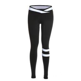 Stylish Leggings Australia - Crisscross Mesh Waist And Back Leggings 2019 Women Fitness Leggings Cool Stylish Ankle Length Casual Women Elastic Exercise Leggings Pants