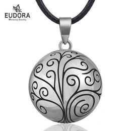 $enCountryForm.capitalKeyWord Australia - Eudora 20mm Tree Of Life Mexican Bola Harmony Chime Ball Angel Caller Pregnancy Pendant Necklace For Women Fine Jewelry N14nb316 T190704